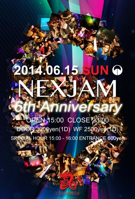 NEXJAM 6th Anniversary